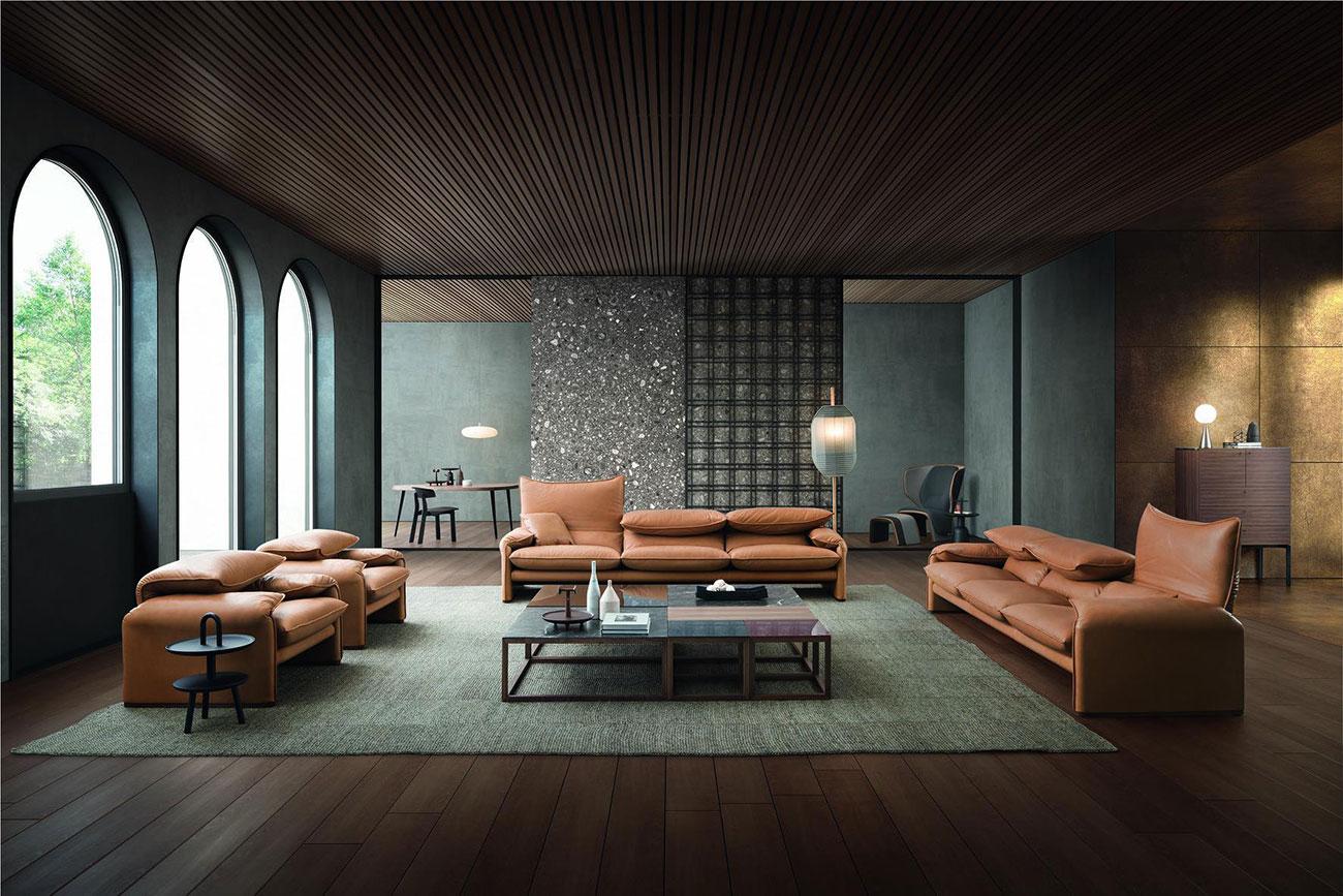 divani e poltrone cassina meozzi mobili