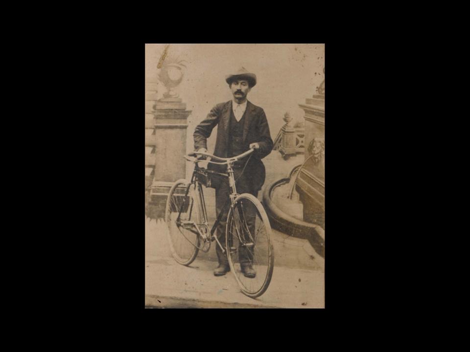 Storia - Il capostipite Giovan Battista Meozzi, falegname in Pistrino dal 1894
